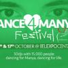 Dance 4 Manya Festival: Budi i ti deo najvećeg humanitarnog festivala do sada!