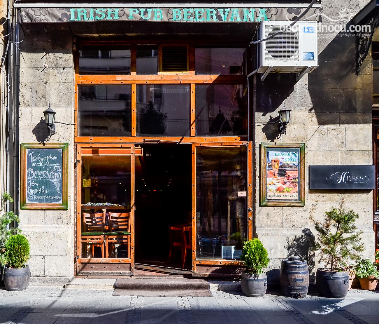 Kafe Irish Pub Beervana Rezervacije Na 063 33 33 44 Beograd Nocu