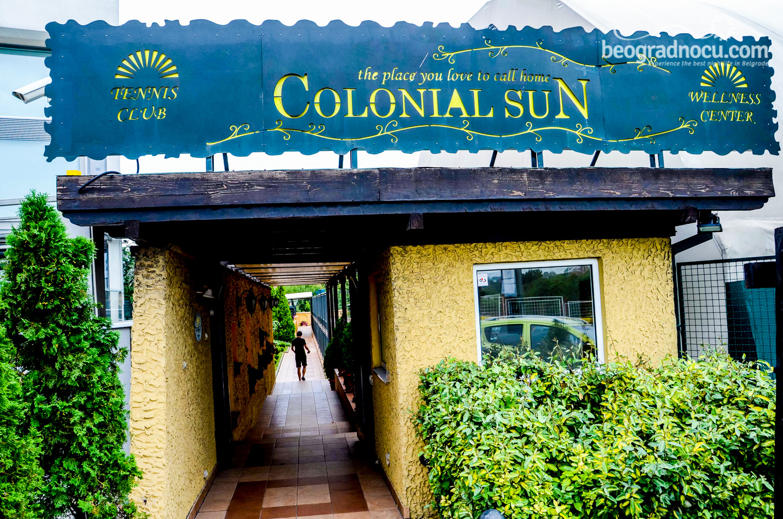 restoran Colonial Sun