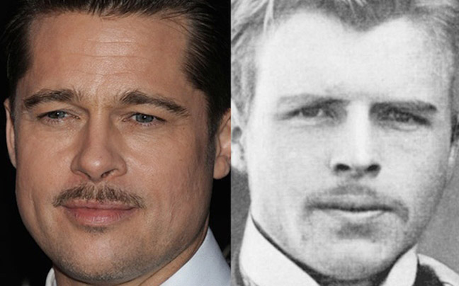 Brad Pitt and Herman Rorschach
