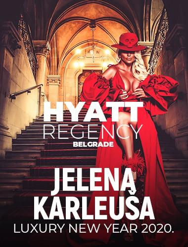 Docek Nove godine Beograd 2020 Hyatt Jelena Karleusa