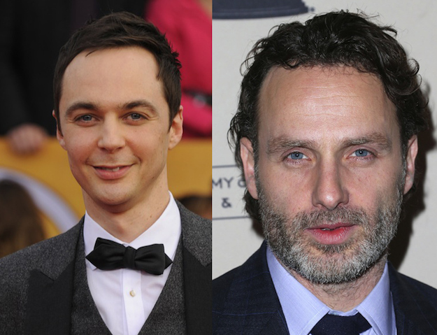 Jim Parsons and Andrew Lincoln