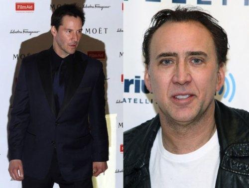 Keanu Reeves and Nicolas Cage