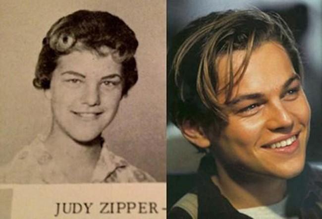 Leonardo DiCaprio and Judy Zipper