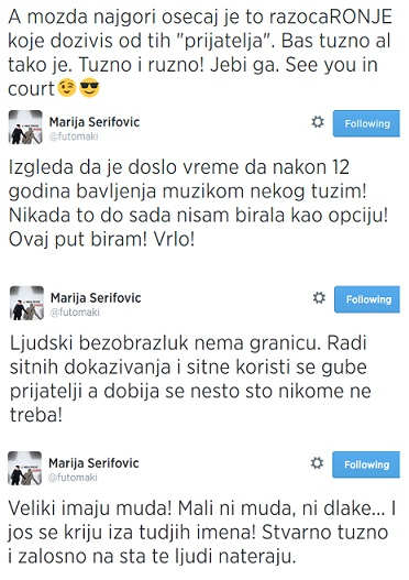 Marija Serifovic t