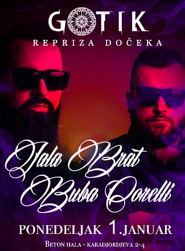 Klub Gotik Repriza Doceka 2018