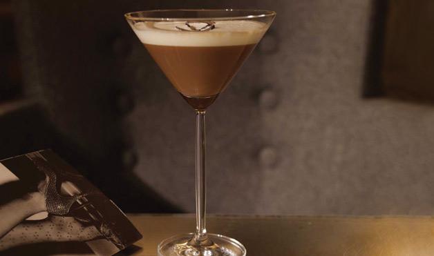 Chocolate Truffle Martini