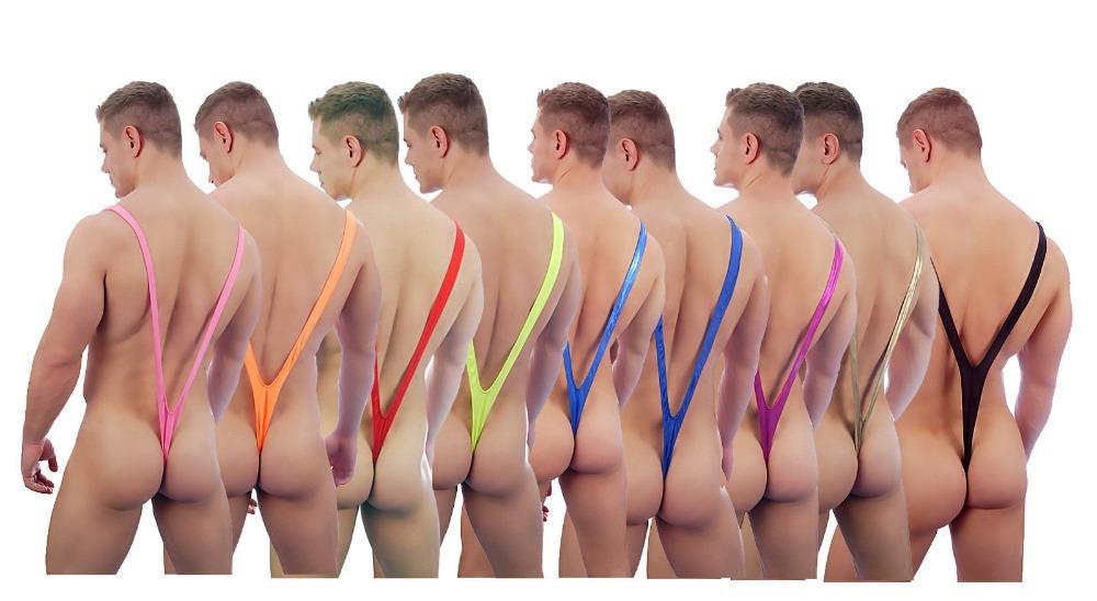 Black-Red-Pink-font-b-Green-b-font-Blue-Borat-font-b-Mankini-b-font-Thong