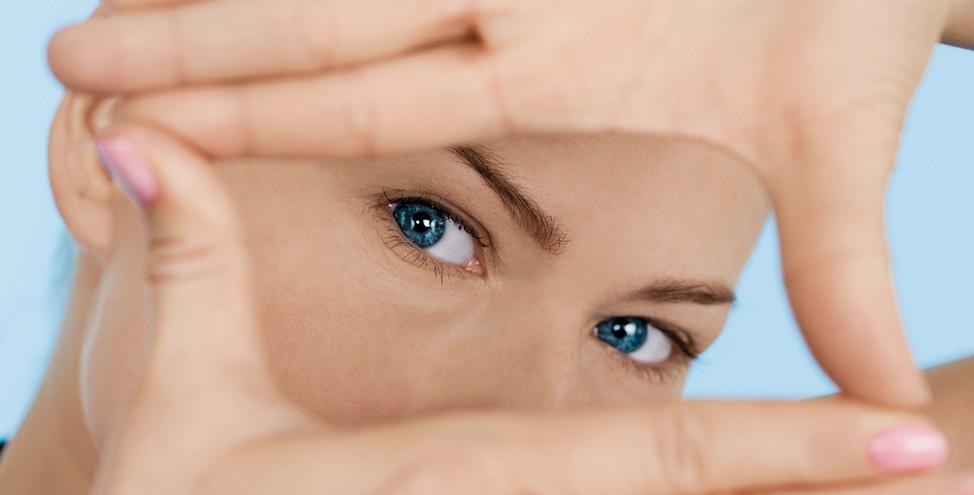 ženske oči