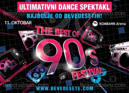 Festival Najbolje od 90-ih u Areni