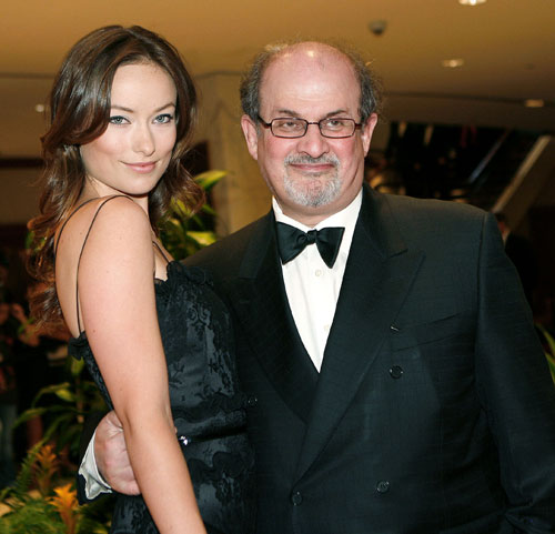 Salman-Rushdie-and-Olivia-Wilde1