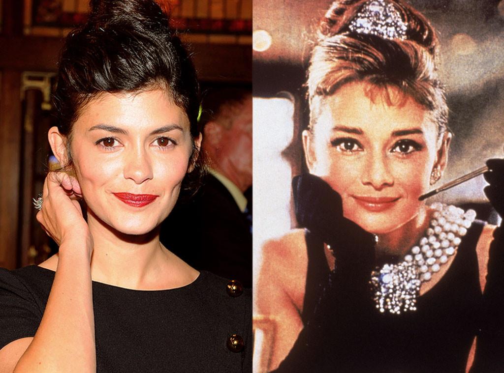 Audrey Tautou & Audrey Hepburn