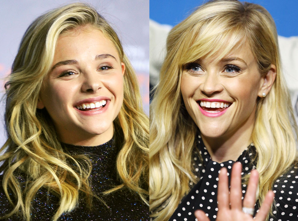 Chloe Grace Moretz & Reese Witherspoon