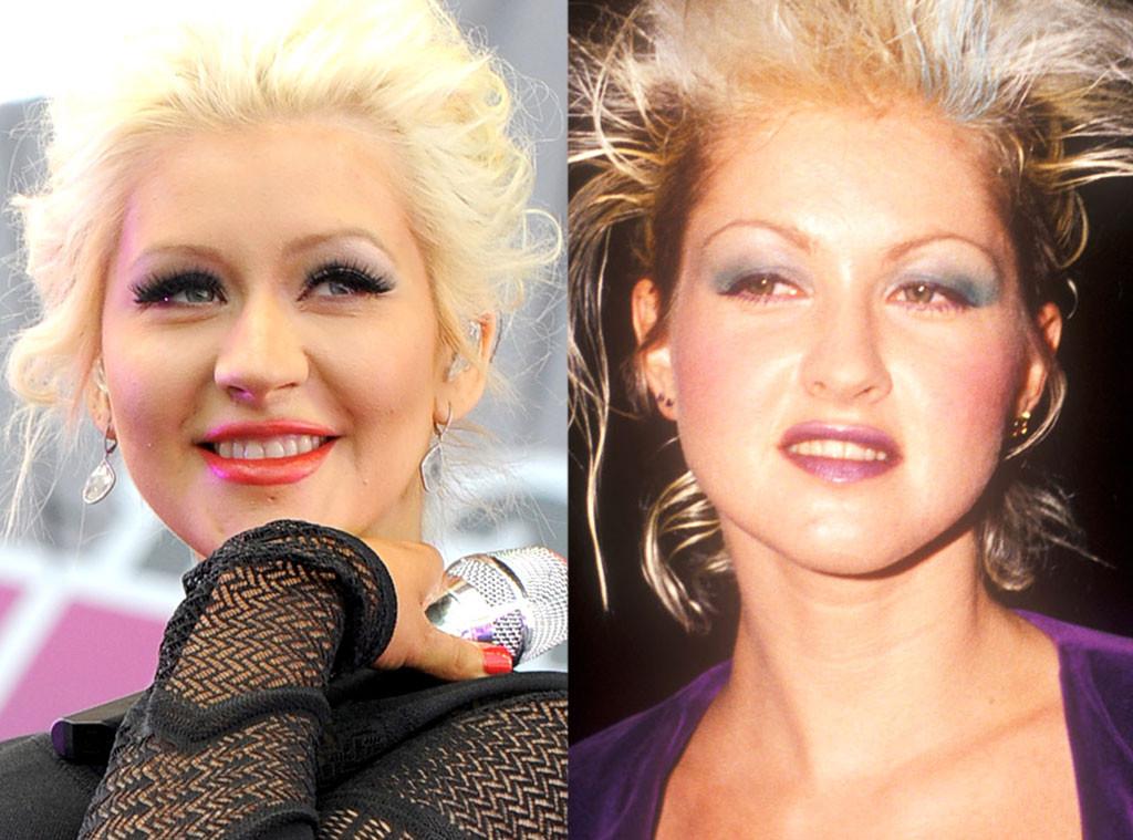 Christina Aguilera & Cyndi Lauper