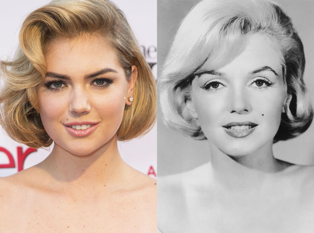 Kate Upton & Marilyn Monroe