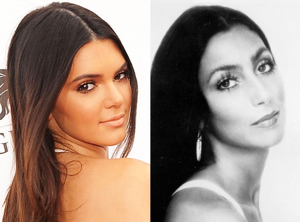 Kendall Jenner & Cher