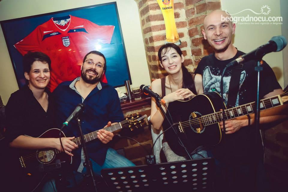 london pub akusticna banda