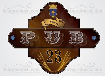 kajmakcalanska ulica beograd mapa Pub 23 Beograd   Rezervacije 063 343433 | Beograd Nocu kajmakcalanska ulica beograd mapa