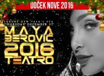 Docek Nove 2016 godine klub Teatro