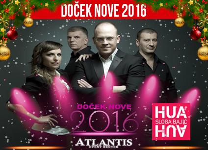 Docek Nove godine 2016 Atlantis Event Centar