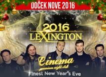 Docek Nove godine 2016 klub Cinema