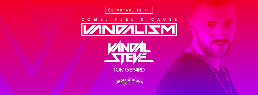Klub Underground Vandalism Tom Gepard