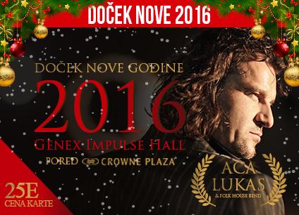 Docek Nove godine 2016 Genex Impulse Hall