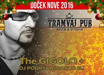 Docek Nove godine 2016 Tramvaj Pub