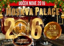 Docek Nove godine 2016 hotel Moskva Palace