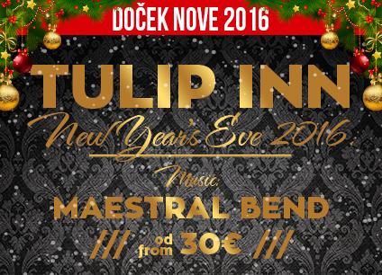 Docek Nove godine 2016 hotel Tulip Inn