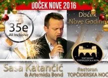 Docek Nove godine 2016 restoran Topciderska Noc
