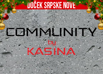 Docek srpske Nove godine 2016 klub Community by Kasina