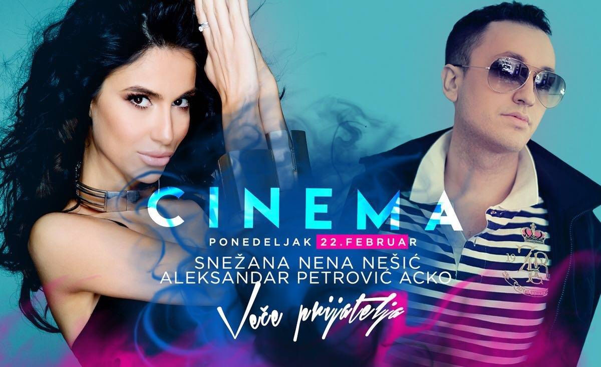 cinema ponedeljak