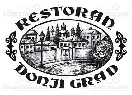 Restoran Donji Grad logo