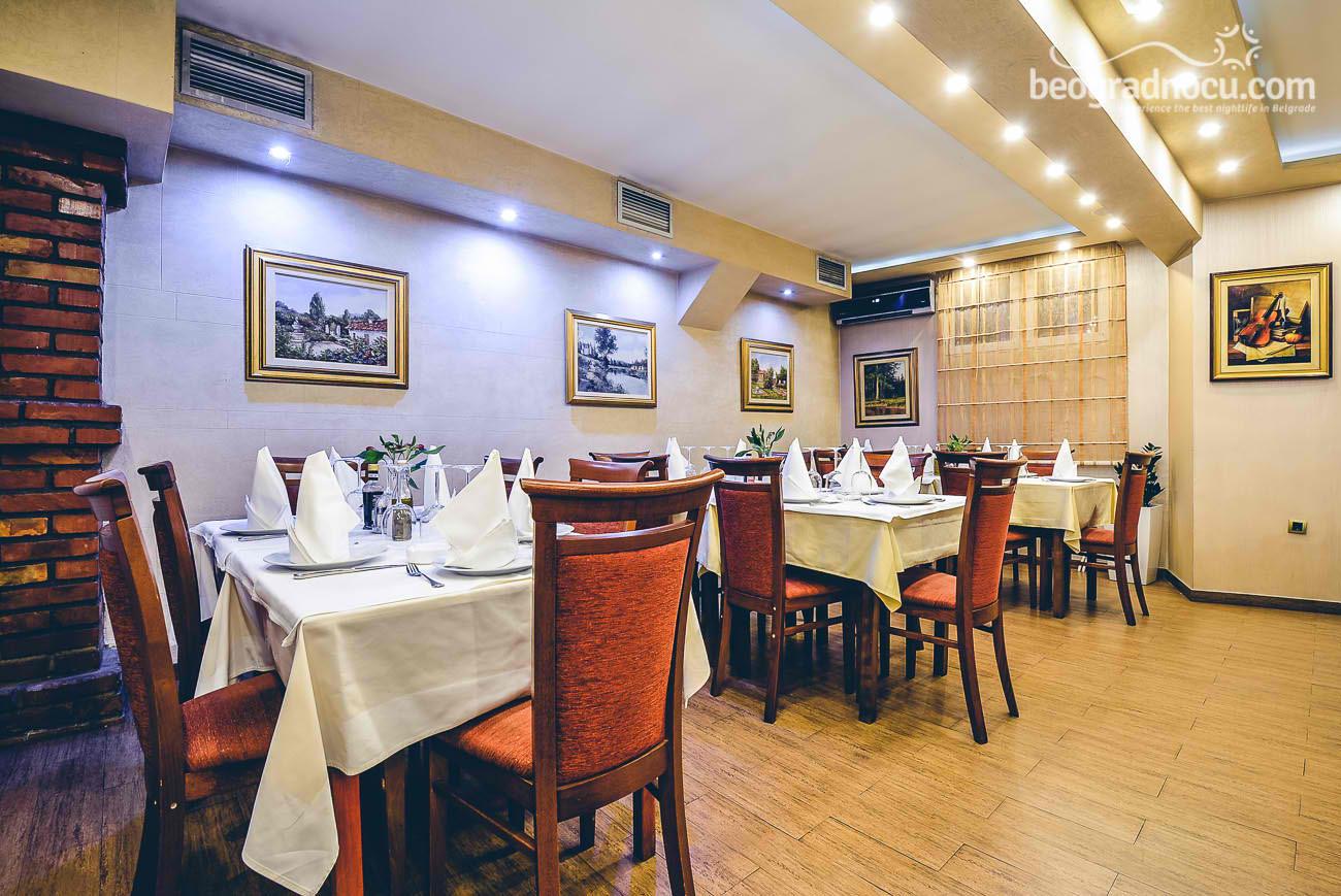 donji grad restoran bg nocu