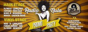 Radio Nula promo party