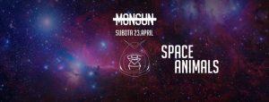 Space Animals @ Monsun cover