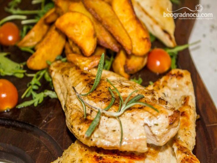 Restoran Solunac - jelo od piletine