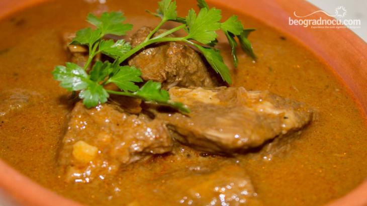 Restoran Solunac - jelo od mesa