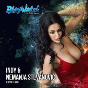 Indy i Nemanja Stevanović na splavu Blaywatch