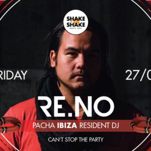 DJ RE.NO at Shake'n'Shake