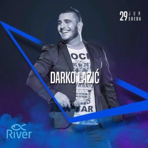 Darko Lazić na splavu River