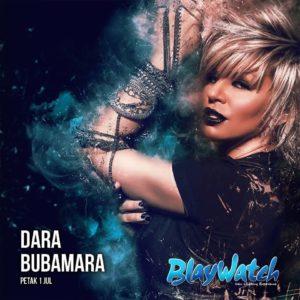 Dara Bubamara na splavu Blaywatch