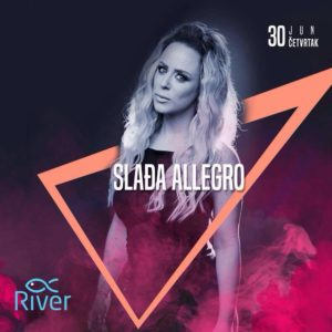 Slađa Allegro večeras na splavu River