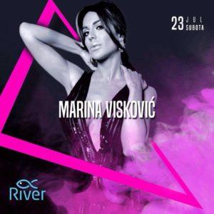 Marina Visković na splavu River