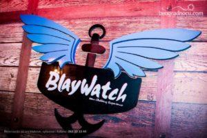 Večeras ludilo na splavu Blaywatch!
