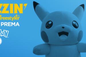 Buzzin Pokemon Go Party na splavu Freestyler