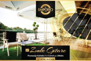 Vrhunski program i brojne promocije narednih dana na splavu Emporio!