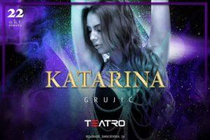 Teatro: Katarina Grujić večeras