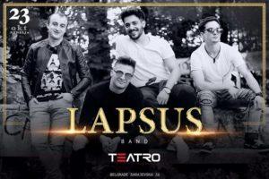 Teatro: Lapsus Band večeras
